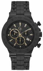 Watch Man Gc Watches Structura Y35006g2 Of Stainless Steel, Black