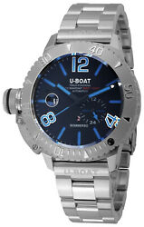 Watch Man Sommerso 9014 / To / Mt Of Stainless Steel Silver Plated