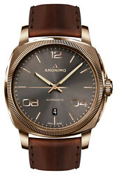 Watch Man Anonimo Epurato Am400004441w88 Leather Brown