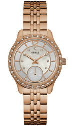Watch Woman Guess Watches Ladies Whitney W0931l3 Of Stainless Steel Plated In/o