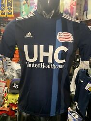 Adidas New England Revolution Youth Home Soccer Jersey Navy Blue Sizeyouth Large