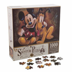 Disney Mickey Mouse And Pluto The Pup 85th Anniversary Puzzle 1000 Pieces New