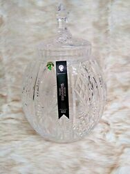 Waterford Cassandra 13 Limited Edition Handmade Crystal Biscuit Barrel W/lid