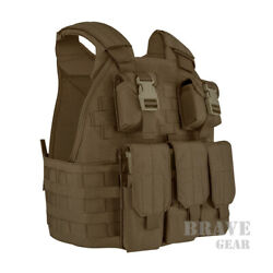 Emerson Tactical Compact High Speed Plate Carrier SPC Vest w Magazine Pouch
