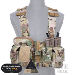 Emerson Tactical UW Chest Rig Split Front Gen V Hunting Vest H Harness pouches