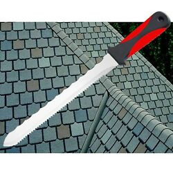 Keyfit Tools Cuts All Knife, Stainless Steel Box Cutter Utility Roofing Knife