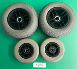 5x1.75 Caster Wheels And 2.5x7.5 Drive Wheels For Pride Jazzy Z-chair F089