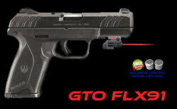 Armalaser Gto For Ruger® Security-9 - Red Laser W/ Flx91 Grip Touch Activation