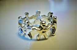 Original 925 Y [year] 1985 We Are The World, Hands Across America Promo Ring