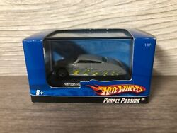 Ho Scale 2007 Hot Wheels Diecast 187 Display Stand Case Car Purple Passion Rare