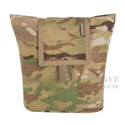 Emerson Tactical Roll Up Dump MOLLE Mag Pouch Foldable Magazine Storage Bag