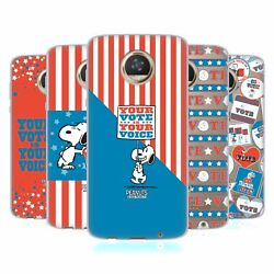 Official Peanuts Your Vote Is Your Voice Soft Gel Case For Motorola Phones
