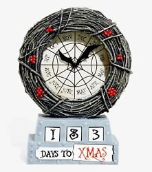 The Nightmare Before Christmas Countdown To Halloween Andchristmas Table Clocknew