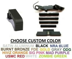 For Glock Gen 4 Extended Control Kit 4 Pins And Serrated Mag Release Choose Kit
