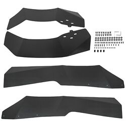 For Polaris Rzr Xp 1000 And Xp 1000 4 Extended Fender Flares Mud Flaps 2014-2020