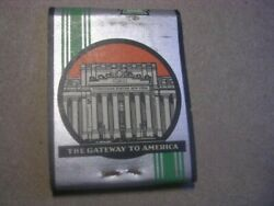 1930's Pennsylvania Railroad-the Gateway To America Retains 2 Of 20 Matchbook