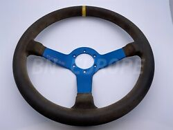 Subaru Impreza Rare Leather Prodrive Steering Wheel Interior Wrx Sti Gc8 Gdb
