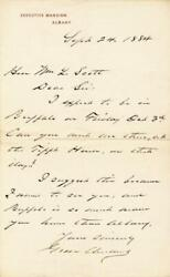 Grover Cleveland - Autograph Letter Signed 09/24/1884