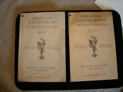 1950-52 Phelps And Clifton Springs Ny Ontario Telephone Directory +ads Some Illust