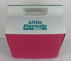 Little Playmate Igloo Cooler Pink amp; Teal Retro Colorway $21.96