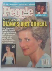 People Weekly August 3 1992 Princess Diana Whitney Houston