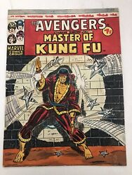 The Avengers 46 ,1974 Uk Original Color Guide-master Of Kung Fu