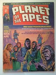 Planet Of The Apes 1 Magazine 1974
