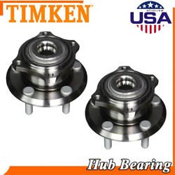 Timken 2 Front Wheel Bearing And Hub For Dodge Charger Magnum Chrysler 300 Awd