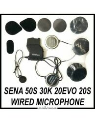 Rxus Audio Kit Compatible Sena 50s 30k 20s Wired Microphone And Metal Speakers
