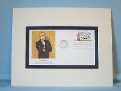 Famed Comedian Jack Benny And First Day Cover Of His Own Stamp