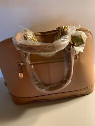 JOY amp; IMAN Genuine Leather Timeless Tote NEW w tag $59.00