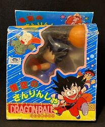 Epoch Tricycle Dragon Ball Son Goku With Box Opened Retro Vintage From Japan