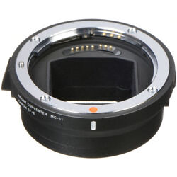 Sigma Mc-11 Mount Converter Lens Adapter From Sigma / Canon Ef Lenses To Sony E