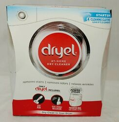 Dryel At Home Dry Cleaner Cleaning 4 Loads Laundry Starter Kit NEW