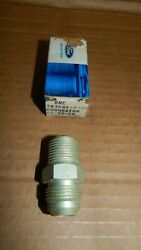 Nos 1969 1970 Ford Mustang 428scj Oil Cooler Block Adapter Fitting 383284-s100