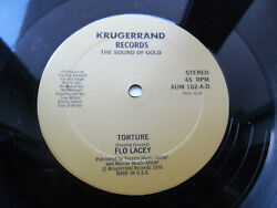 Flo Lacey - Torture - Classic Disco - 12 - Usa - 1978 - Krugerrand Records