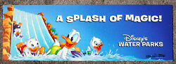 Disney Water Parks Sign A Splash Of Magic Artist Signed Don Ducky Williams