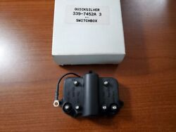 New Quicksilver Mercury Marine Boat Switch Box Assembly Oem Part 339-7452a3