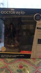 Doctor Who Classic Figure Set The 2nd Doctor And Tardis From Andlsquothe War Gamesandrsquo