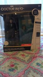 Classic Doctor Who Figure Set 3rd Doctor Andtardis From Andlsquothe Monster Of Peladonandrsquo