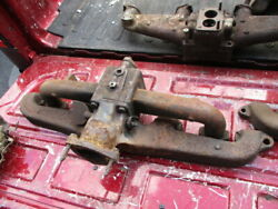 Gmc 6 Cylinder Intake And Exhaust Manifolds