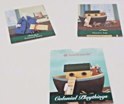 American Girl Doll 2 Cards Colonial Playthings Felicityand039s Elizabeth Trading Set