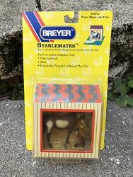 New Breyer Horse Stablemate #59972 Pinto Arabian Mare Thoroughbred Foal Set G1