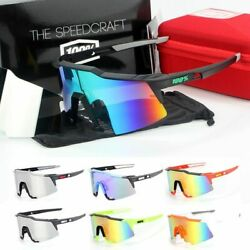 New 100% Popular Outdoor Cycling Glasses Sports Goggles Dazzling Windproof $41.50