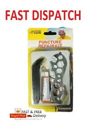 Bicycle Cycle Puncture Repair Kit Hole Bike Flat Tyre Inner Tube Patch With Tool
