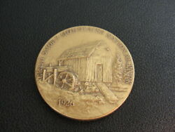 Vintage Maco Great Smoky Mountains National Parks Centennial Bronze Medal