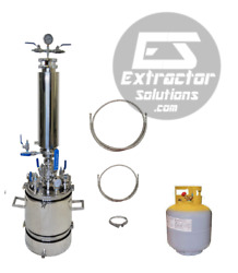 2.5 Lb Bidirectional Closed Loop Extractor With Solvent Tank-extractor Solutions