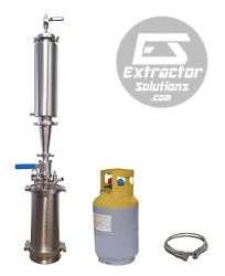 1lb 450g Closed Loop Extractor With Solvent Tank - Extractor Solutions