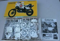 Vintage Rare Cagiva Lucky Explorer Protar Motorcycle Bike Model Elf New Italy