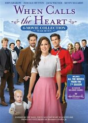 WHEN CALLS THE HEART COMPLETE YEAR SEVEN 7 New DVD Season 6 Movie Collection